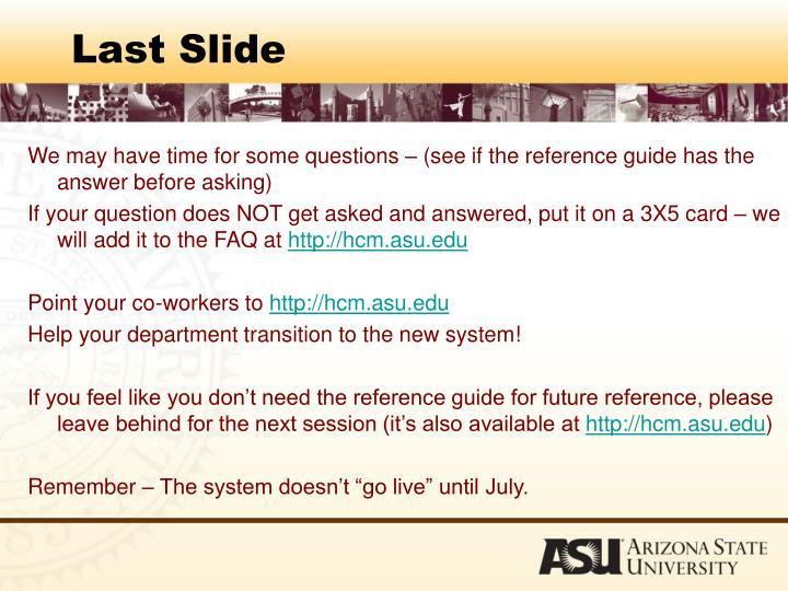 Last Slide