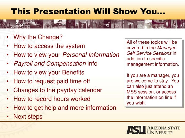 This Presentation Will Show You…