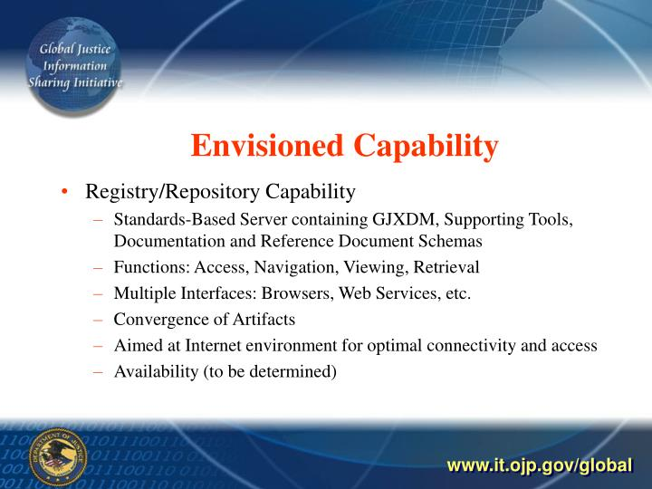 Envisioned Capability