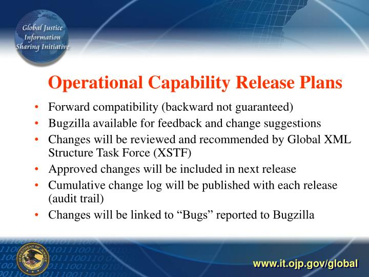 Operational Capability Release Plans