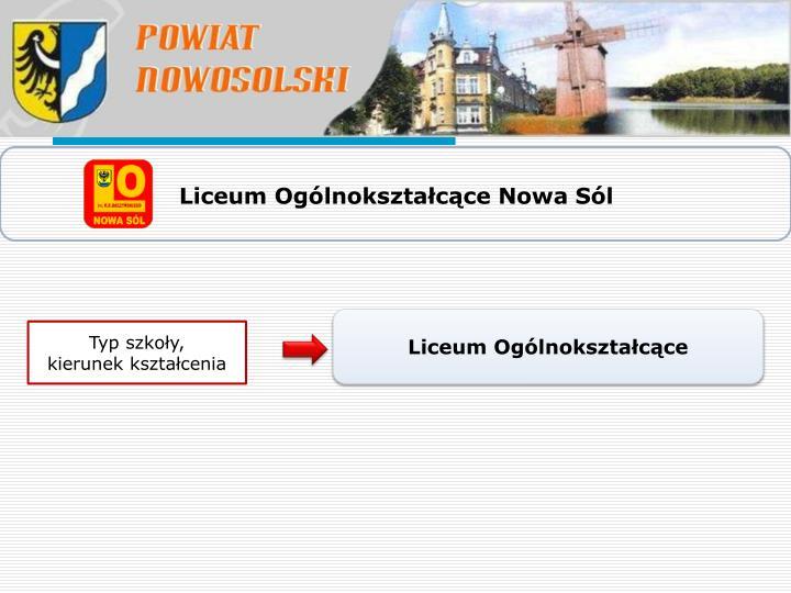 Liceum Ogólnokształcące Nowa Sól