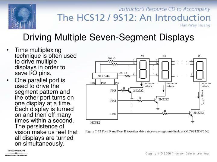 Driving Multiple Seven-Segment Displays