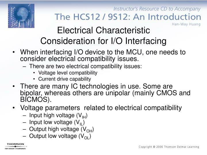 Electrical Characteristic