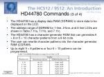 hd44780 commands 3 of 4