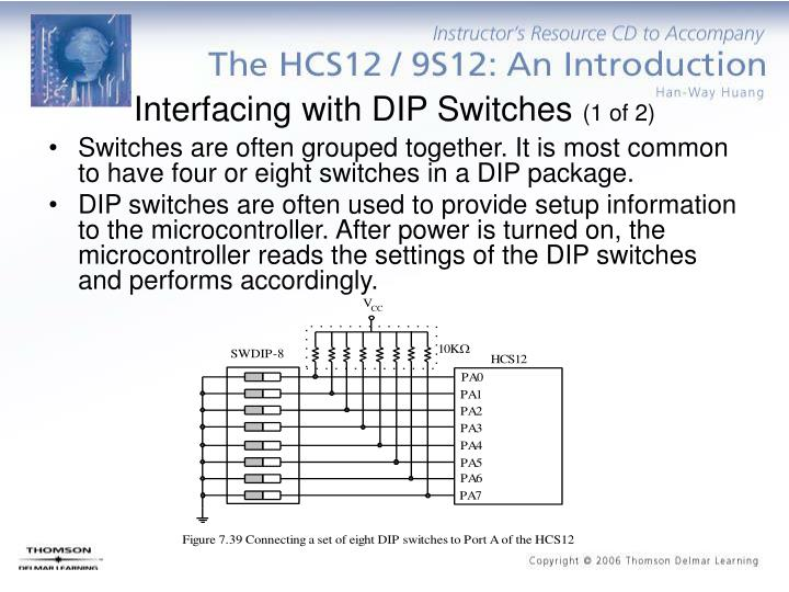 Interfacing with DIP Switches