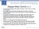 stepper motor control 5 of 7