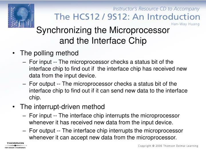 Synchronizing the Microprocessor