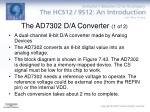the ad7302 d a converter 1 of 2