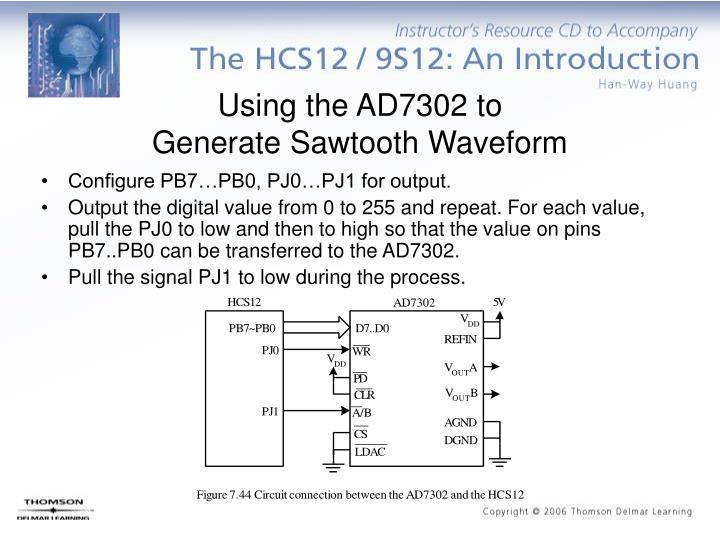 Using the AD7302 to
