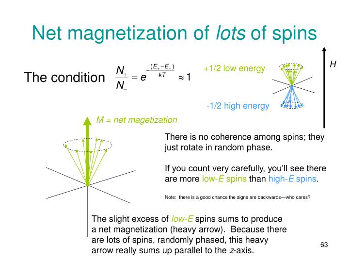 Net magnetization of