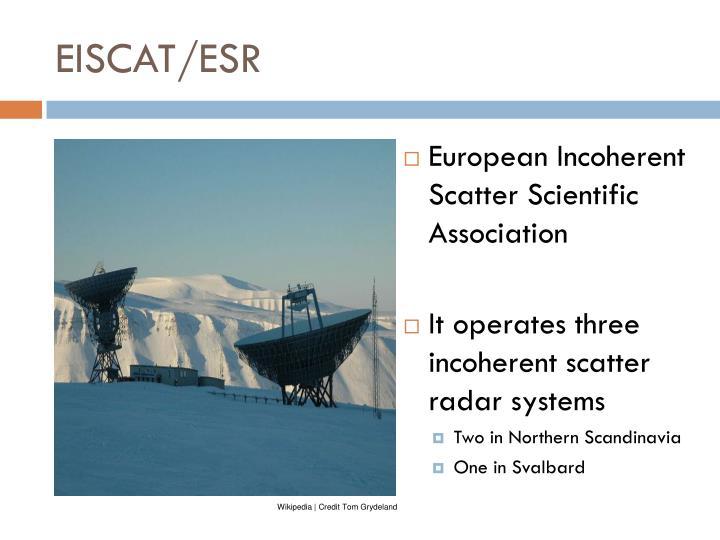 EISCAT/ESR