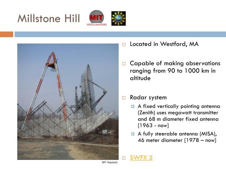 Millstone Hill