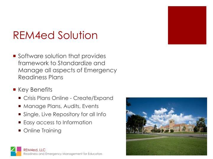 REM4ed Solution