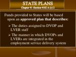 state plans chapter 41 section 4102 a c 2