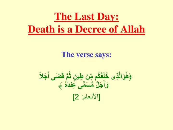 The Last Day: