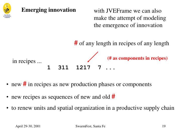 Emerging innovation