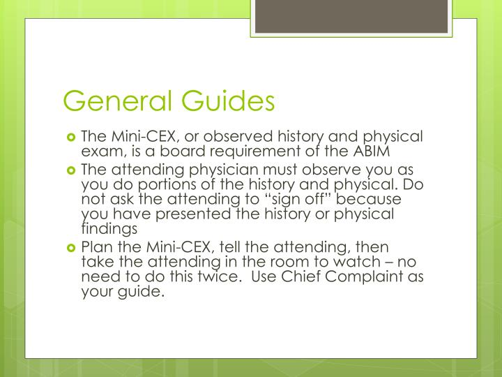 General Guides