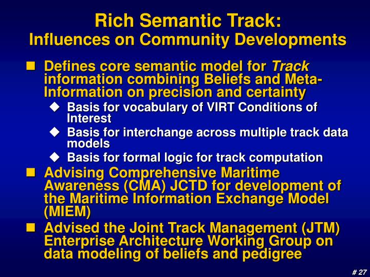 Rich Semantic Track: