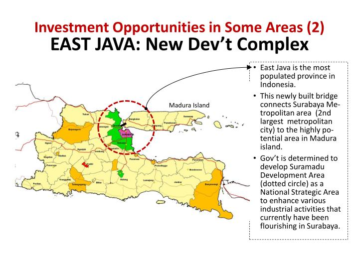 Investment Opportunities in Some Areas (2)