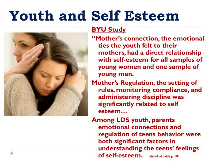 Youth and Self Esteem