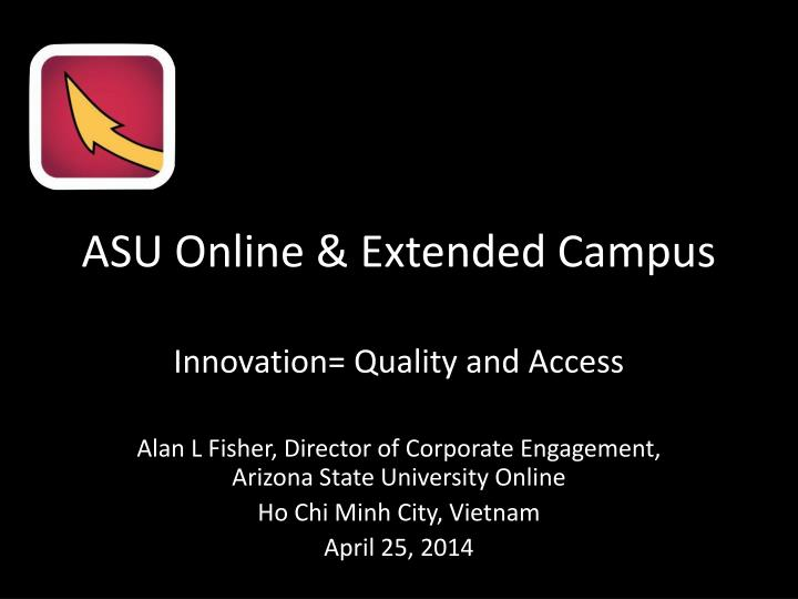 Asu online extended campus