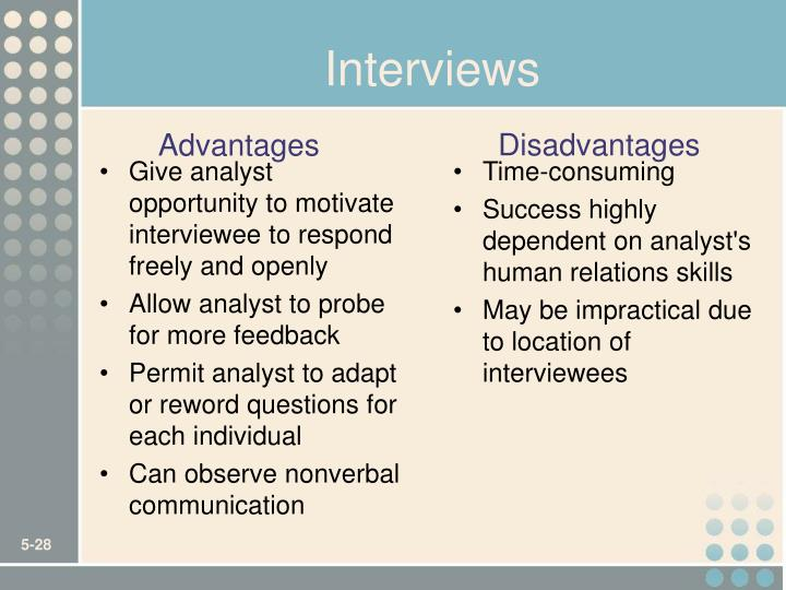Give analyst opportunity to motivate interviewee to respond freely and openly
