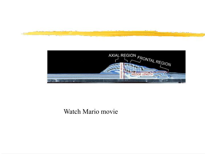 Watch Mario movie