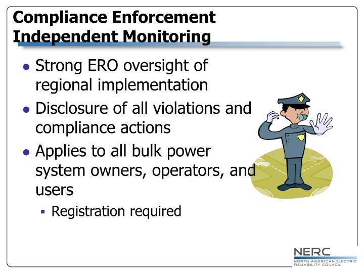 Compliance Enforcement