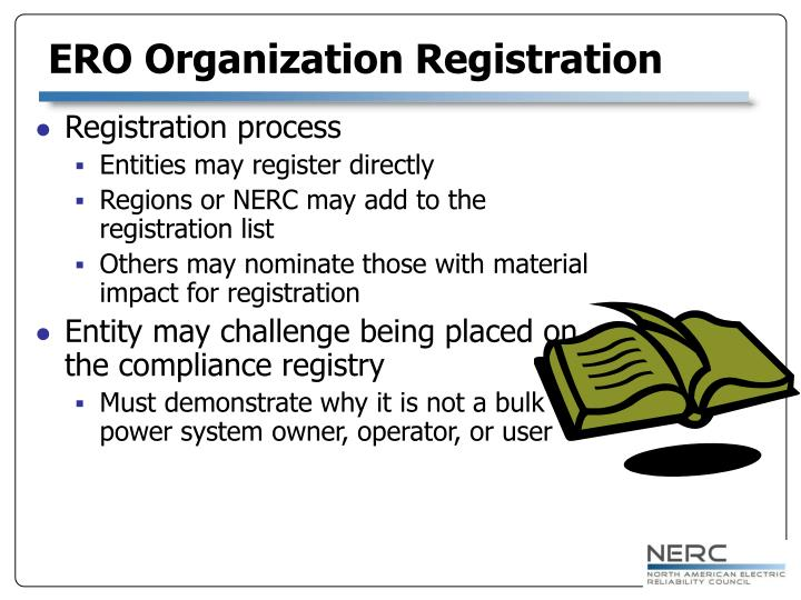 ERO Organization Registration