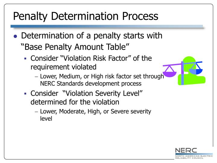 Penalty Determination Process