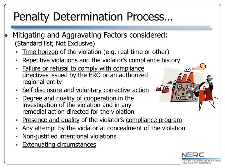 Penalty Determination Process…