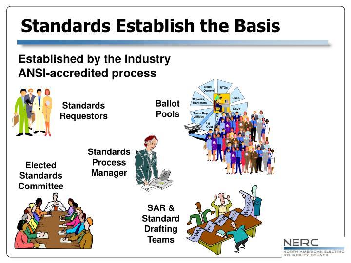 Standards Establish the Basis