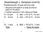 swartzbaugh v sampson cont d3