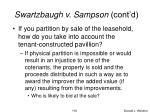 swartzbaugh v sampson cont d4