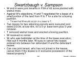 swartzbaugh v sampson