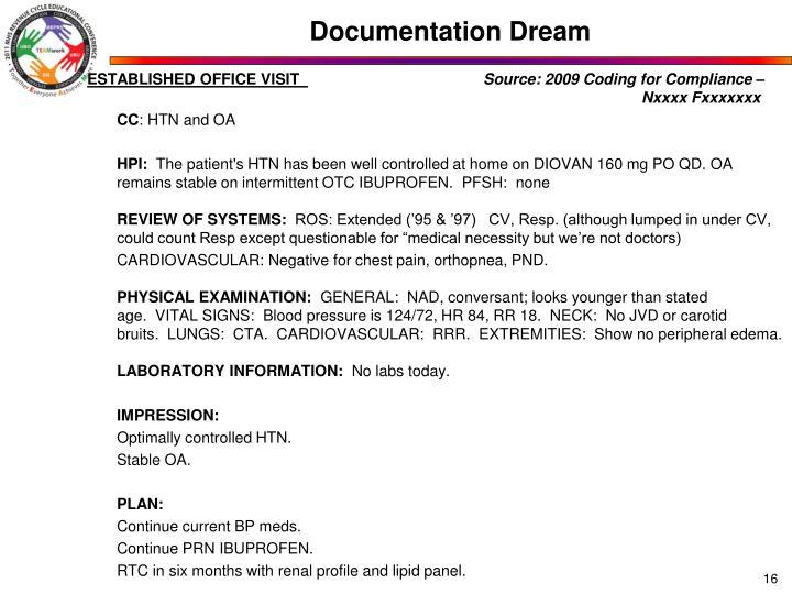 Documentation Dream