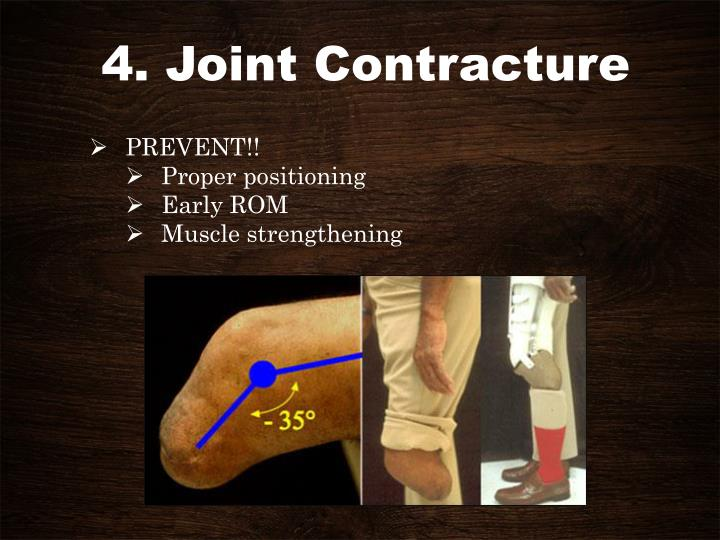 4. Joint Contracture