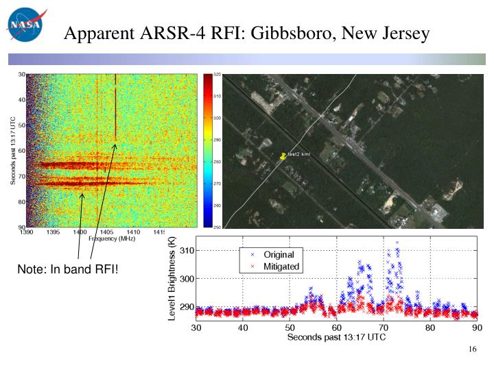 Apparent ARSR-4 RFI: Gibbsboro, New Jersey