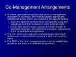 co management arrangements2