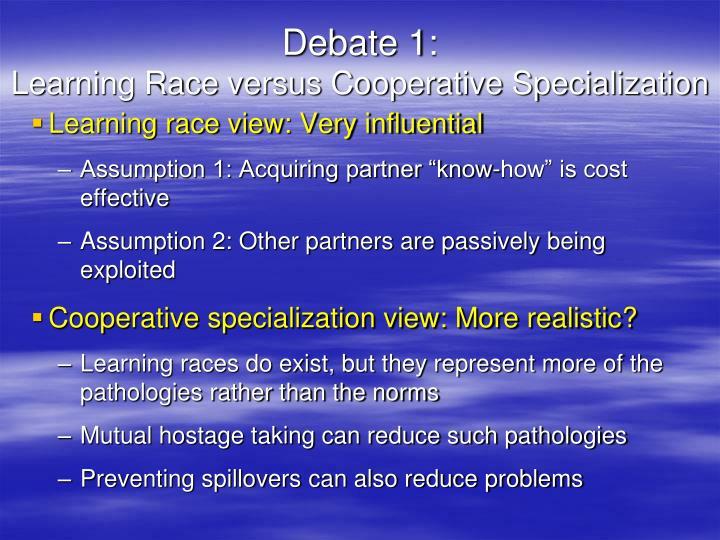 Debate 1: