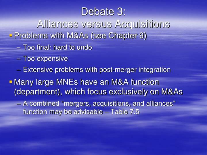 Debate 3:
