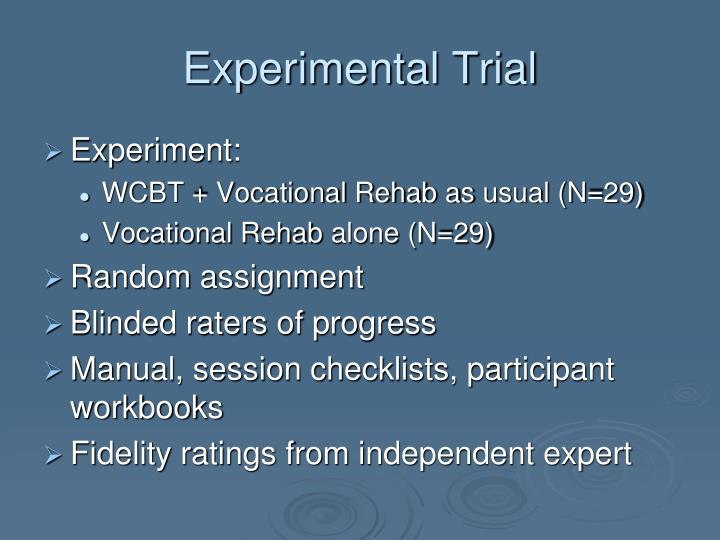 Experimental Trial