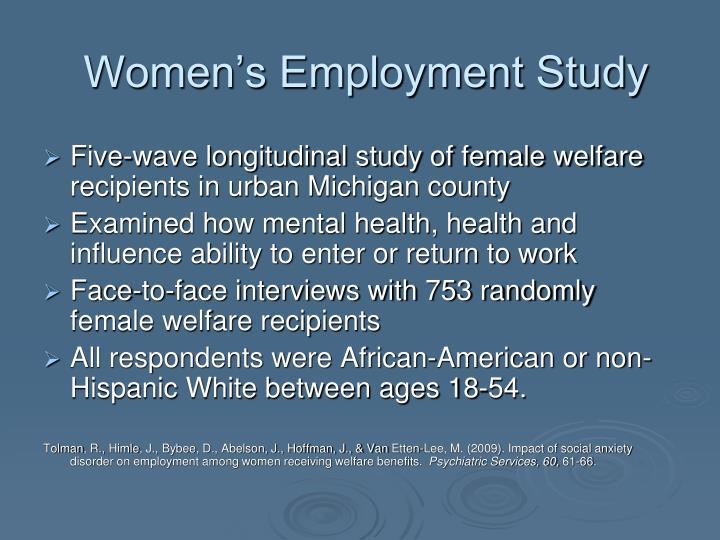 Women's Employment Study