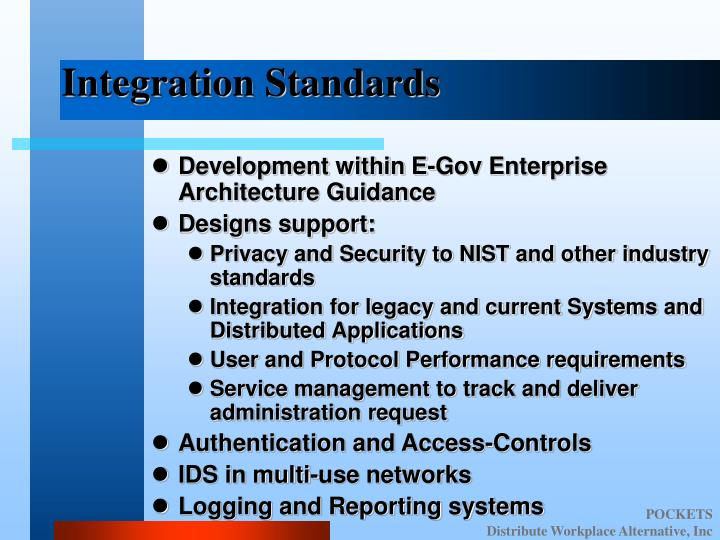 Integration Standards