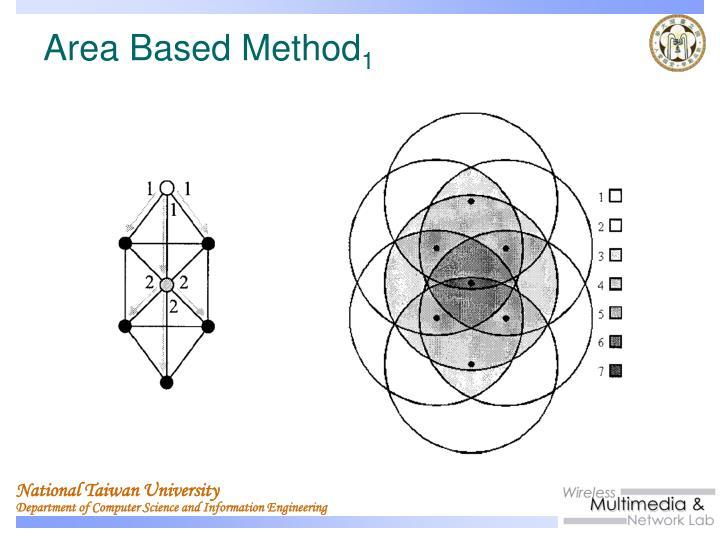 Area Based Method