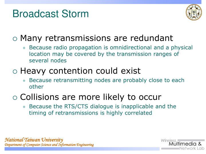 Many retransmissions are redundant
