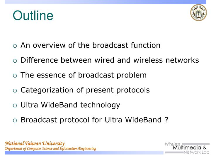 An overview of the broadcast function