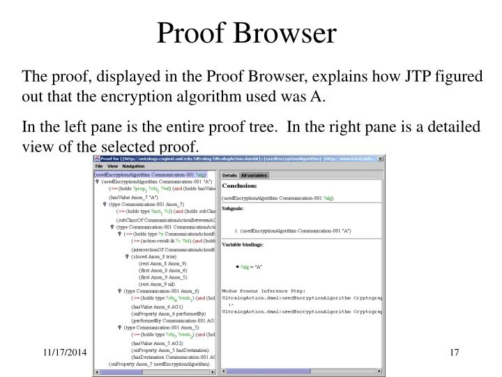 Proof Browser