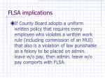 flsa implications2