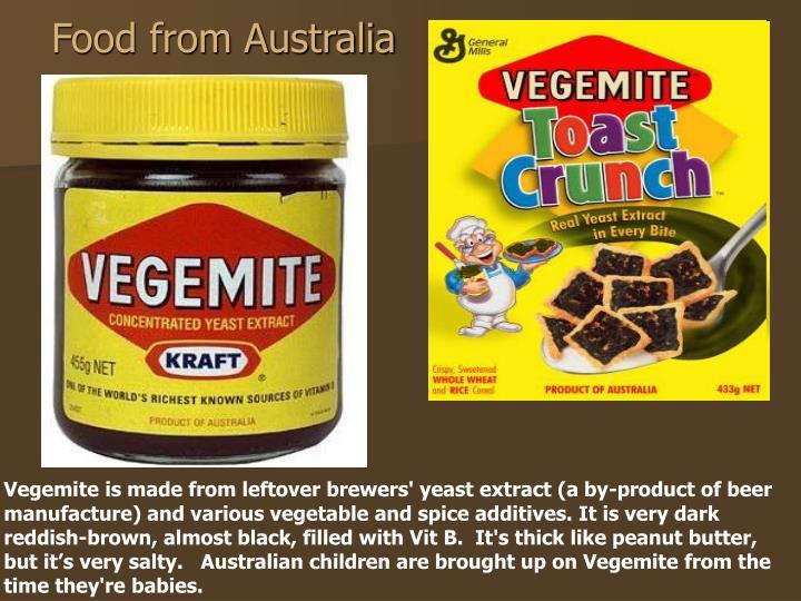Food from Australia